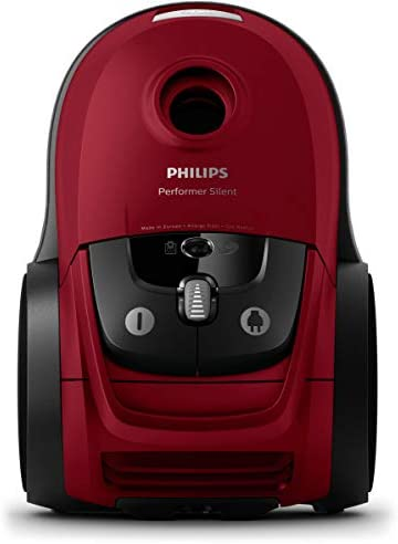 Philips PowerPro Compact FC9333//09 Aspiradora 650 W, Aspiradora cil/índrica, Secar, Sin bolsa, 1,5 L, Filtro EPA