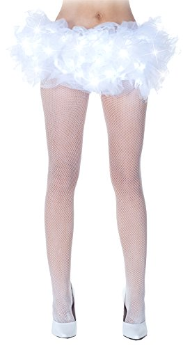 Child Tutu Light Up (Tutu Light-Up White Halloween Costume - 1 size)