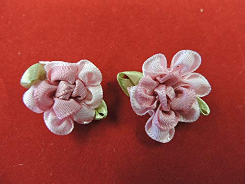 Victorian Cabbage Flower Applique Pair KE-1786