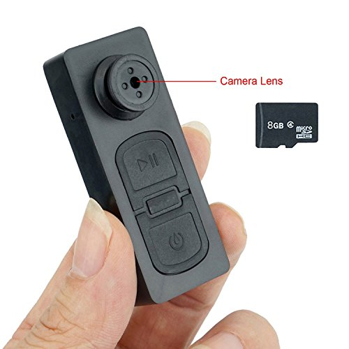 8GB Mini Pocket Button Hidden Spy Camera Video Camera Motion Detection DV Camcorder