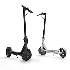 Jayvine Xiaomi Mi Electric Scooter, 18.6 Miles Long-Range Battery, up to 15.5 MPH, Easy Fold-n-Carry Design, Ultra-Lightweight Adult Electric Scooter (US Version with Warranty)