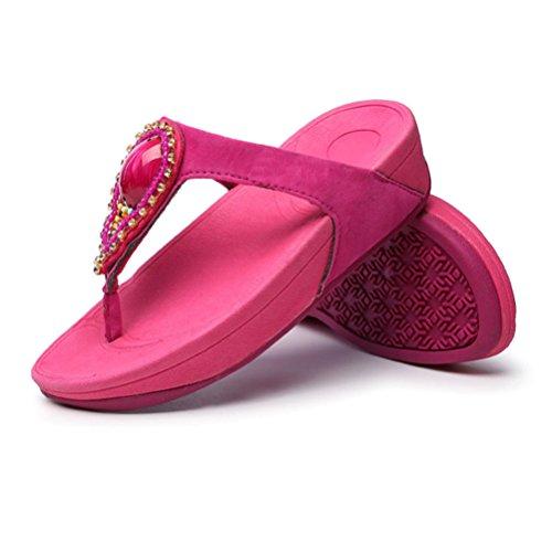 Donna Sandalo Cristallo Da In Spiaggia Infradito Da Sandalo Donna Da Pink Oq4Zw7