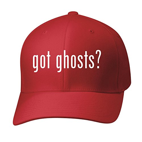 Ghosts? - Baseball Hat Cap Adult, Red, Large/X-Large (Stardust Top Hat)