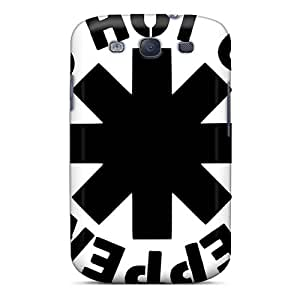 JacquieWasylnuk Samsung Galaxy S3 Scratch Resistant Cell-phone Hard Covers Provide Private Custom HD Red Hot Chili Peppers Skin [EuO8729Fmey]