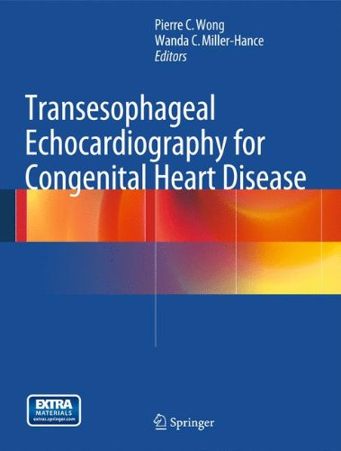 Pdf Medical Books Transesophageal Echocardiography for Congenital Heart Disease