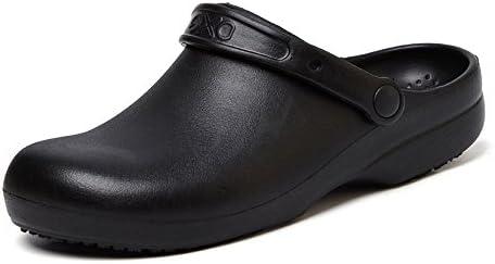 男性女性の滑り止め、油防止の専門のコック靴 メンズ作業靴 キッチン靴