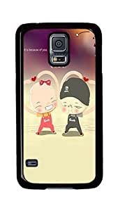 Samsung Galaxy S5 Case, S5 Cases - Will Go On Ultimate Protection Scratch Proof Soft TPU Rubber Bumper Case for Samsung Galaxy S5 I9600 Black
