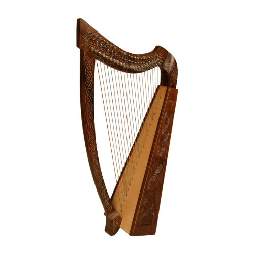 heather-harp-tm-22-strings-vine-design