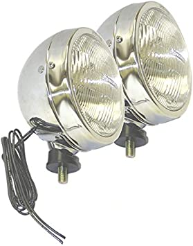 Grote FORWARD LIGHTING PAIR PER-LUX MODEL 600RM HALOGEN LAMPS CLEAR 06001-4