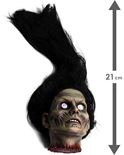 Female Zombie Head Prop (Severed Female Zombie Head Prop)