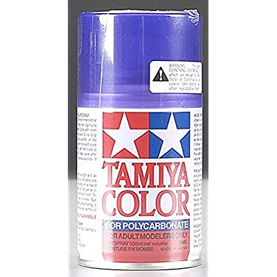 Tamiya America, Inc Polycarbonate PS-45 Translucent Purple, Spray 100 ml, TAM86045: Toys & Games