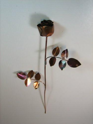 Bausatz Kupferrose Löten Sie eine Rose