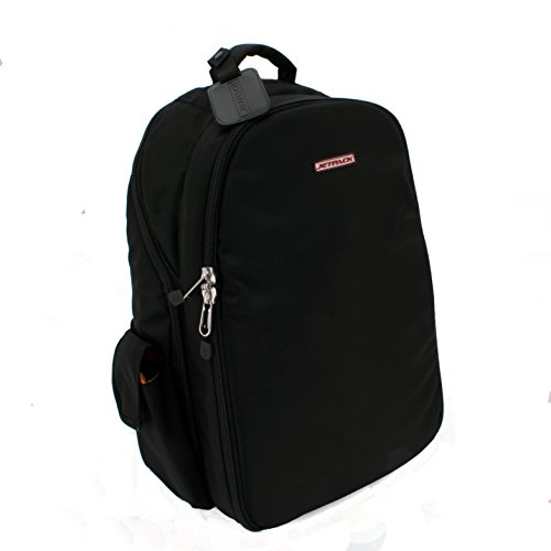 (Orbit Concepts Jetpack-Prime-XL-BLK Jetpack Prime DJ Backpack for Laptop/Mixers, DV's Systems/Vinyl Records/Headphones/Cables/Accessories and More)