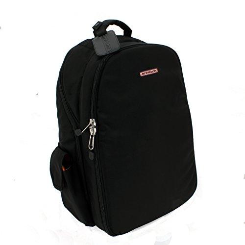 Orbit Concepts Jetpack-Prime-XL-BLK Jetpack Prime DJ Backpack for Laptop/Mixers, DV's Systems/Vinyl Records/Headphones/Cables/Accessories and - Dj Laptop Mixer