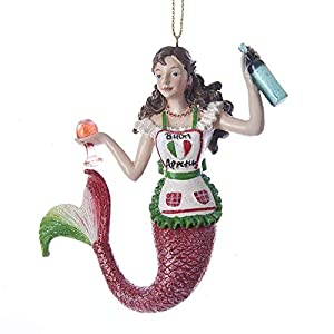 41v937L5pBL._SS300_ 100+ Mermaid Christmas Ornaments