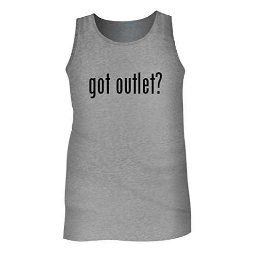 Tracy Gifts Got Outlet? - Men's Adult Tank Top, Heather, - Outlet Mall Tracy