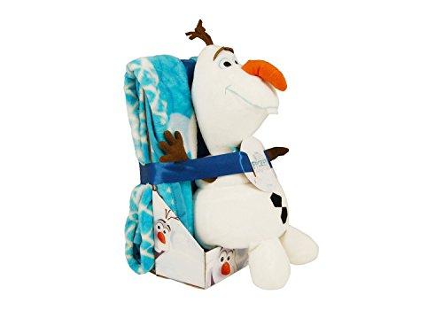 Disney Olaf's Frozen Adventure Character Pillow & Throw Set ()