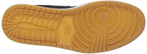 Zapatillas De Baloncesto Nike Jordan Air Jordan 1 Mid Nouveau Cool Grey / Cool Gry / White / Gm Lght 11,5 Hombre Us