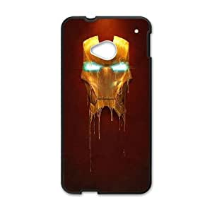 Iron Man Mask HTC One M7 Cell Phone Case Black phone component AU_538462