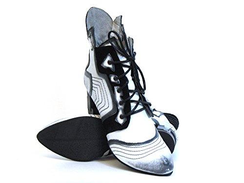 Weiß 5 00 white Ankle 03194 Boots kombi 11 kombi weiß Women Maciejka vCqnOO