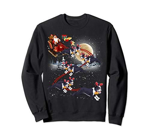 Boston Terrier Reindeer Christmas - Nice Dog Sweatshirt