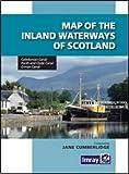 Map Inland Waterways of Scotland