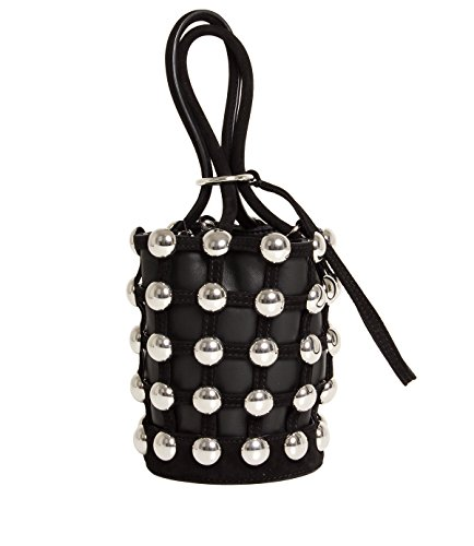 Mod Stud Roxy Mini Dome Suede Black Alexander 2099c0114s Donna Bucket Wang In vqwUCSa