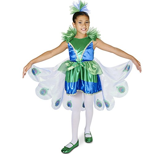 Peacock Costume (Peacock Child Costume S (4-6))