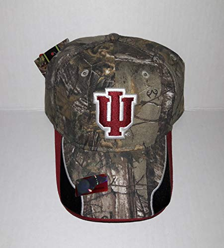 OC. Indiana University Hoosiers Adjustable Hat 3D Embroidered Cap
