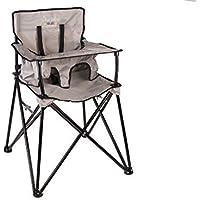 ciao! Baby Portable High Chair, Grey Check