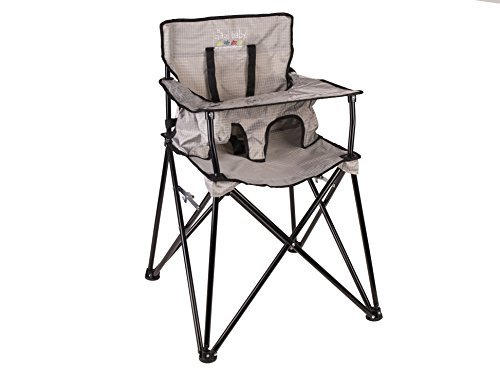 Ciao! Baby Portable High Chair, Grey JamberlyGroup Inc. HB2016