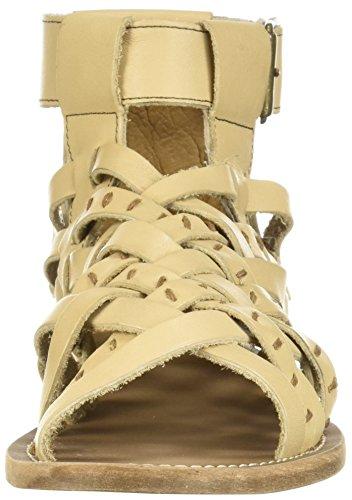 Cloud Adelle Musse Natural Flat Sandal Women's amp; C8q5qwS