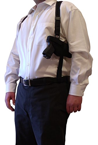 King Holster Tactical Shoulder Holster fits Walther PPQ Sub-Compact | PK380 | PPS | PPK | P22 | CCP Concealed Carry Pistol