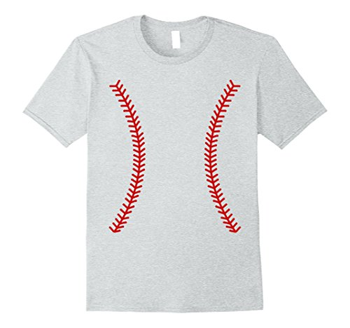 Last Minute Sports Halloween Costumes (Mens Alternative Baseball Sports Ball Halloween 2017 Tee 3XL Heather Grey)
