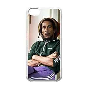C-EUR Print Bob Marley Pattern Hard Case for iPhone 5C