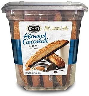 product image for Nonni's Almond Cioccolati Biscotti (25 ct.)