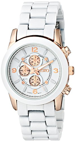 XOXO Womens XO5594 Two-Tone Watch