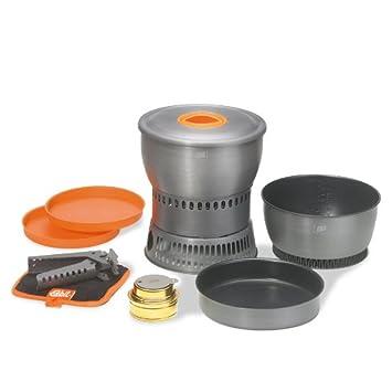 Esbit - Set de cocina + Hornillo de alcohol 1,8L /2,35L