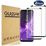 Samsung Galaxy S8 Screen Protector, [HD Clear][9H Hardness][Anti-Bubble] Tempered Glass, Screen Protector 2-Pack