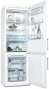 Electrolux ENA34933W Independiente Color blanco A+ nevera y congelador - Frigorífico (Independiente, A+, Color blanco, Derecho, LCD, 230V, 13A)
