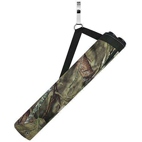 Pellor 2 Tube Quiver Adjustable Waist Hanging Archery Arrows Case for Outdoor Hunting Training