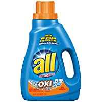 All Liquid Detergent Oxi,46.5oz.