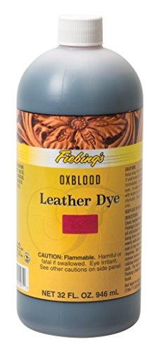 Fiebing's FILDYE71P032Z Leather Dye - Oxblood, 32 oz