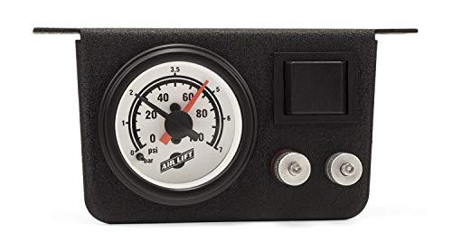 AIR LIFT 25802 Load Controller I Add-On Dual Gauge (Air Lift Load Controller)
