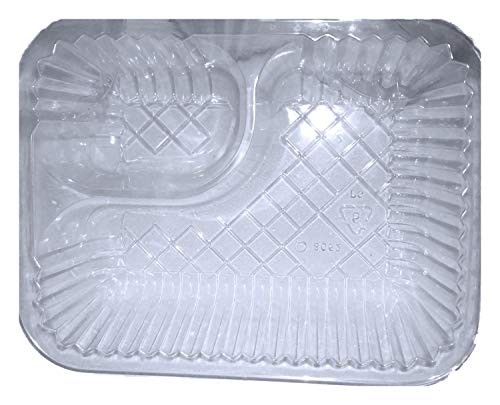 Distinct Possibilities Nacho Tray 5x6 inch - 20 Ounce, 2 Compartment - 25 ct - Pack of 2