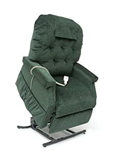 Easy Comfort Lift Chairs 3-Position Lift and Recline Chair, Green