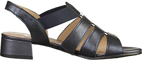 Gril Vrouwen 28200 Open Sandalen Met Sleehakken Blue