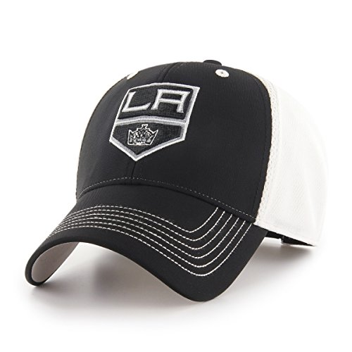 NHL Los Angeles Kings Sling OTS All-Star MVP Adjustable Hat, Black, One Size