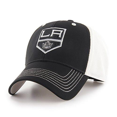 OTS NHL Los Angeles Kings Sling All-Star MVP Adjustable Hat, Black, One Size