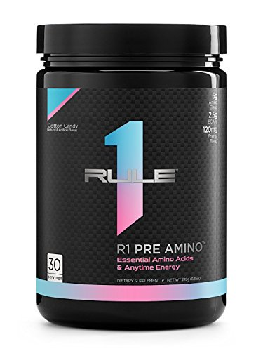 R1 Pre Amino, Rule 1 Proteins (Cotton Candy, 30 Servings)
